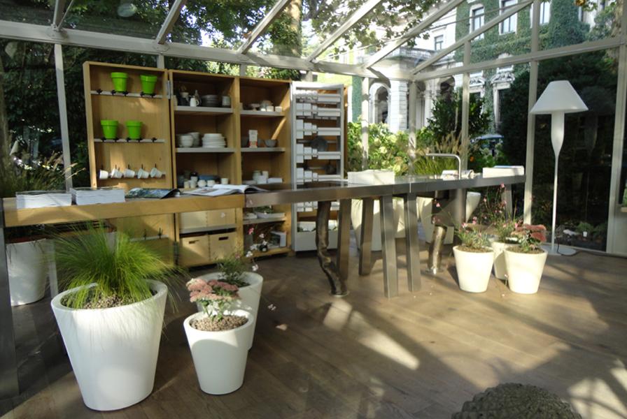 Giardino d inverno verdearchitettura - Giardino d inverno in terrazza ...