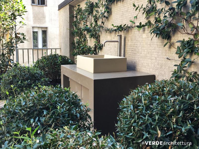 Beautiful lavandino per terrazzo photos idee arredamento casa lavabo